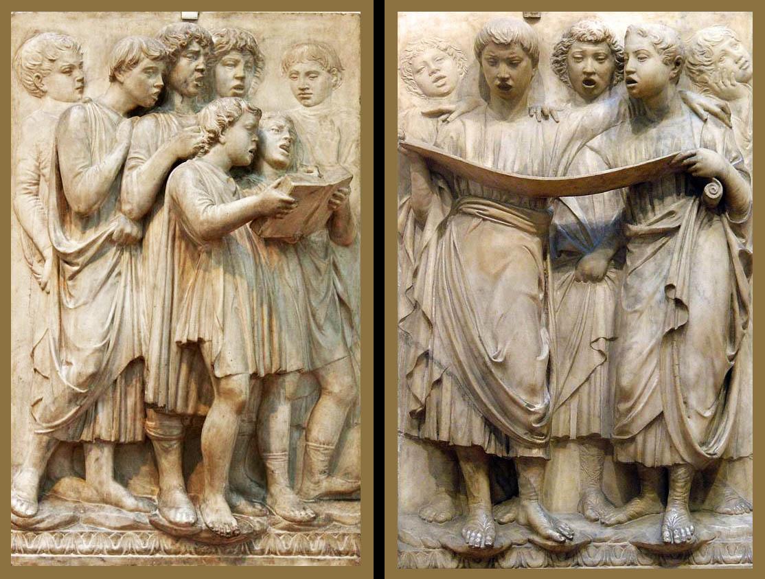 964 2 Della Robbia-Cantoria-Mus Opera Duomo Florencia