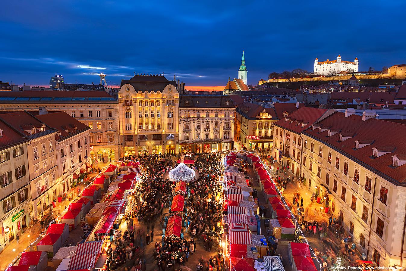 Bratislava en Navidad
